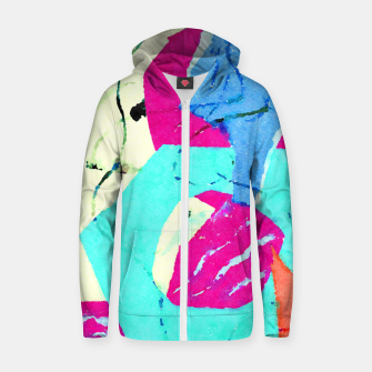 Thumbnail image of Stay Away Zip up hoodie, Live Heroes