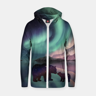 Aurora Bearealis Zip up hoodie thumbnail image
