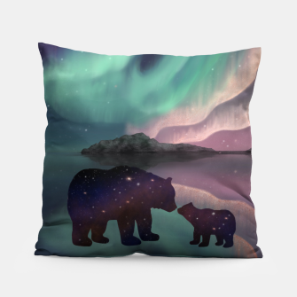 Thumbnail image of Aurora Bearealis Pillow, Live Heroes