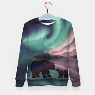 Thumbnail image of Aurora Bearealis Kid's sweater, Live Heroes