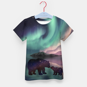 Thumbnail image of Aurora Bearealis Kid's t-shirt, Live Heroes