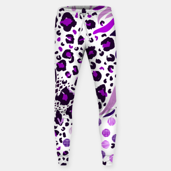Miniatur lilac purple animal print, Live Heroes