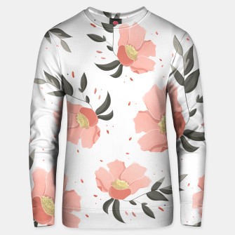Thumbnail image of Flowers Pattern! Unisex sweater, Live Heroes