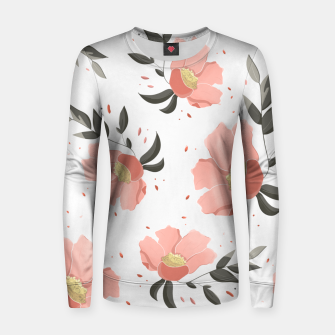 Thumbnail image of Flowers Pattern! Women sweater, Live Heroes
