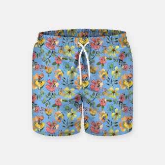 Thumbnail image of Miss Morocco Ocean Swim Shorts, Live Heroes
