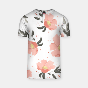 Thumbnail image of Flowers Pattern! T-shirt, Live Heroes