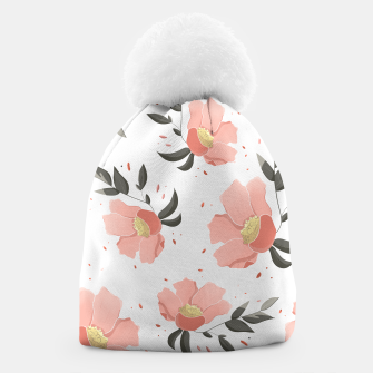 Thumbnail image of Flowers Pattern! Beanie, Live Heroes