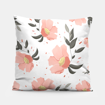 Thumbnail image of Flowers Pattern! Pillow, Live Heroes