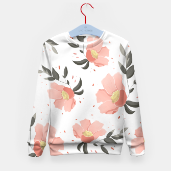 Thumbnail image of Flowers Pattern! Kid's sweater, Live Heroes