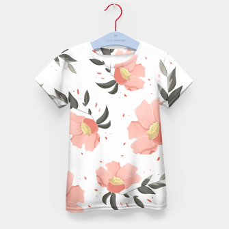 Thumbnail image of Flowers Pattern! Kid's t-shirt, Live Heroes