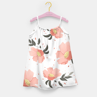 Thumbnail image of Flowers Pattern! Girl's dress, Live Heroes