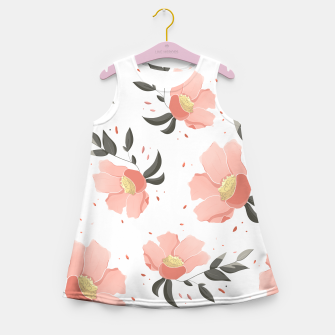 Thumbnail image of Flowers Pattern! Girl's summer dress, Live Heroes