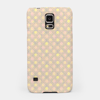 Miniaturka Magical mermaid, fish scales in delicate pastel salmon pink color Samsung Case, Live Heroes
