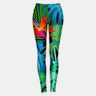 Miniatur bird of paradise leggings, Live Heroes