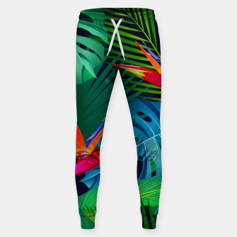 Thumbnail image of bird of paradise sweatpants, Live Heroes