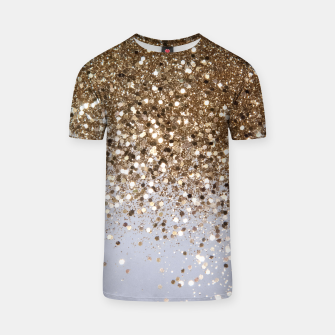 Thumbnail image of Sparkling Champagne Gold Glitter Glam #1 #shiny #decor #art  T-Shirt, Live Heroes