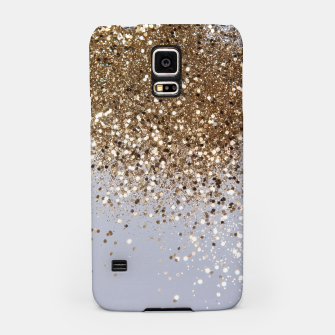 Thumbnail image of Sparkling Champagne Gold Glitter Glam #1 #shiny #decor #art  Handyhülle für Samsung, Live Heroes