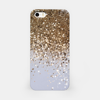 Thumbnail image of Sparkling Champagne Gold Glitter Glam #1 #shiny #decor #art  iPhone-Hülle, Live Heroes