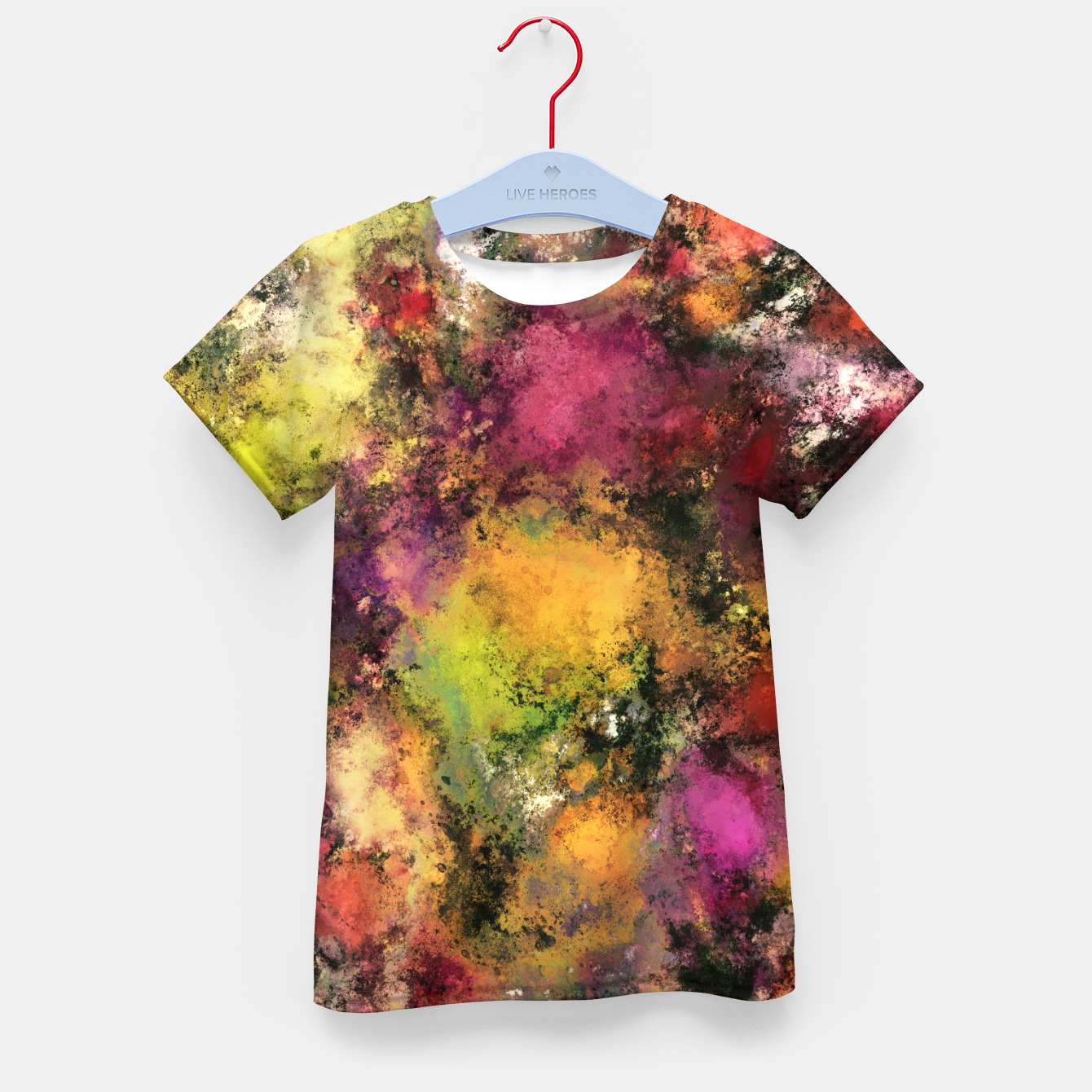 Image of A single source Kid's t-shirt - Live Heroes