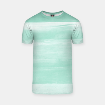 Thumbnail image of Soft Green Watercolor Abstract Minimalism #1 #minimal #painting #decor #art  T-Shirt, Live Heroes
