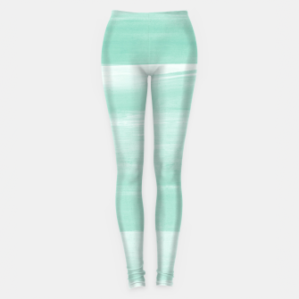 Thumbnail image of Soft Green Watercolor Abstract Minimalism #1 #minimal #painting #decor #art  Leggings, Live Heroes