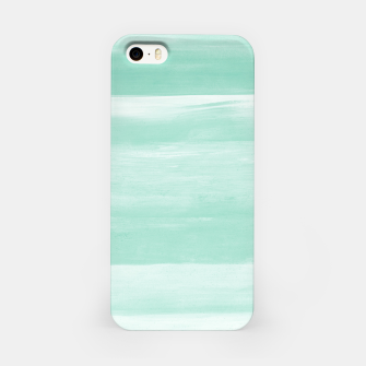 Thumbnail image of Soft Green Watercolor Abstract Minimalism #1 #minimal #painting #decor #art  iPhone-Hülle, Live Heroes