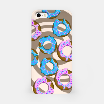 Miniatur Donuts iPhone Case, Live Heroes