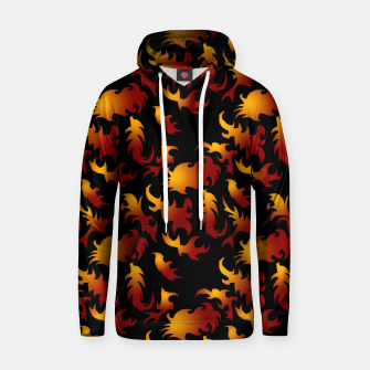 Thumbnail image of Abstract Flames Pattern Hoodie, Live Heroes