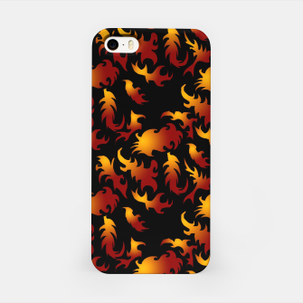 Thumbnail image of Abstract Flames Pattern iPhone Case, Live Heroes