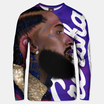 Thumbnail image of Nipsey Hussle Unisex sweater, Live Heroes