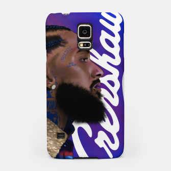 Thumbnail image of Nipsey Hussle Samsung Case, Live Heroes