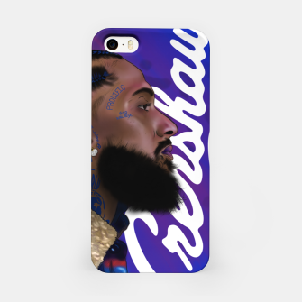 Thumbnail image of Nipsey Hussle iPhone Case, Live Heroes
