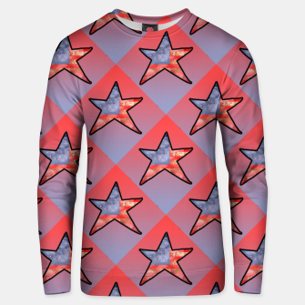 Thumbnail image of American Flag Star Unisex sweater, Live Heroes