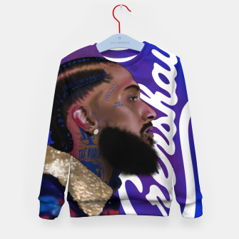 Thumbnail image of Nipsey Hussle Kid's sweater, Live Heroes