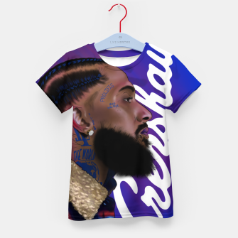 Thumbnail image of Nipsey Hussle Kid's t-shirt, Live Heroes