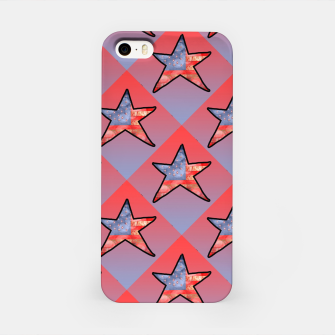 Thumbnail image of American Flag Star iPhone Case, Live Heroes