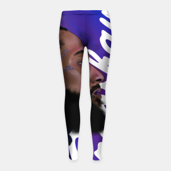 Thumbnail image of Nipsey Hussle Girl's leggings, Live Heroes