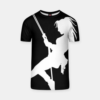 Thumbnail image of Climber girl t shirt, Live Heroes