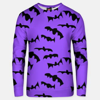 Thumbnail image of Bats Pattern Unisex sweater, Live Heroes