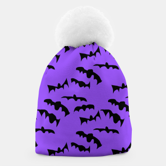 Thumbnail image of Bats Pattern Beanie, Live Heroes