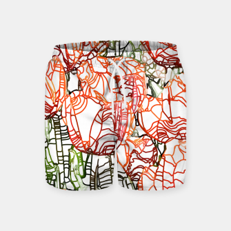 Thumbnail image of Tulip Garden Swim Shorts, Live Heroes