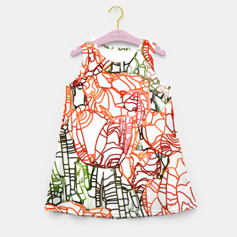 Thumbnail image of Tulip Garden Girl's summer dress, Live Heroes