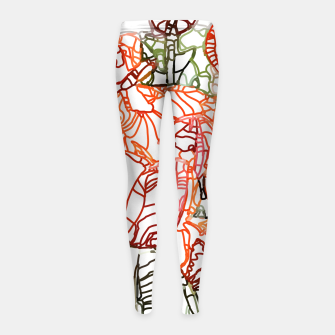 Thumbnail image of Tulip Garden Girl's leggings, Live Heroes