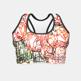 Thumbnail image of Tulip Garden Crop Top, Live Heroes
