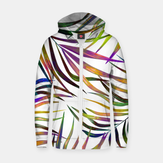 Thumbnail image of Palm Dance Zip up hoodie, Live Heroes