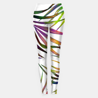 Thumbnail image of Palm Dance Leggings, Live Heroes