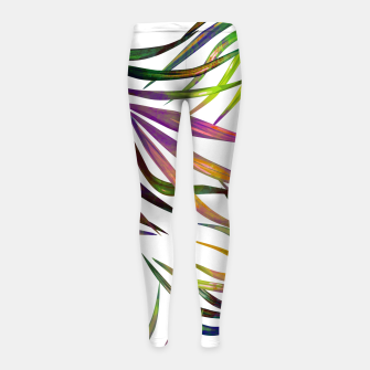 Thumbnail image of Palm Dance Girl's leggings, Live Heroes