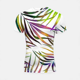 Thumbnail image of Palm Dance Shortsleeve rashguard, Live Heroes