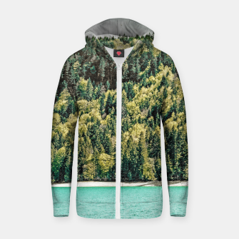 Thumbnail image of Lake Side Zip up hoodie, Live Heroes
