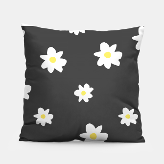 Thumbnail image of Minimalist Daisies Pillow, Live Heroes